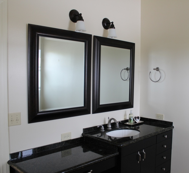 Master Bathroom interim facelift